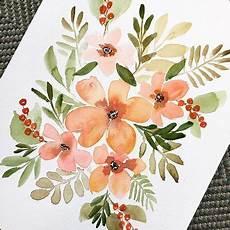 Acryl Malvorlagen Blumen Aquarellblumenmalerei Susan Horn Sweetimaginations