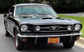 1965 Ford Mustang GT Fastback  Convertible