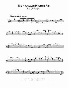 spartito altro the heart asks pleasure first di michael nyman violino