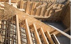 fitting and wooden formworks of stairs stock image image