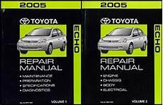 online car repair manuals free 2004 toyota echo electronic valve timing 2004 2005 toyota echo hatchback body collision repair shop manual original