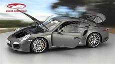 achat porsche 911 ck modelcars porsche 911 991 turbo s achat grau