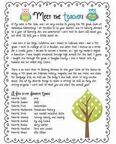 teacher letter parent communications letter to teacher teacher introduction parents as