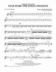 symphonic suite from star wars the force awakens eb alto saxophone 1 by williams