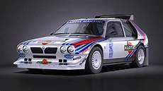 Lancia Delta S4 Rally Car Racing Car Vehicles 3d Models