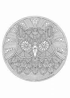 Eulen Ausmalbilder Mandala Ausmalbild Eulen Mandala Ausmalbilder Kostenlos Zum