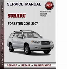 manual repair free 2003 subaru forester transmission control subaru forester 2003 2007 factory service repair manual download pd