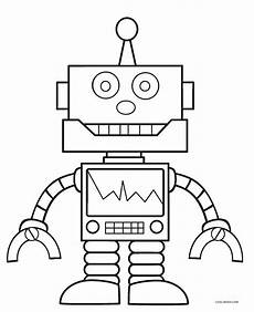 free printable robot coloring pages for