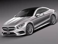 mercedes s class coupe 2015 3d model max obj 3ds fbx