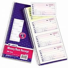 business forms 2 part rent receipt book 2 part carbonless 200 forms walmart com