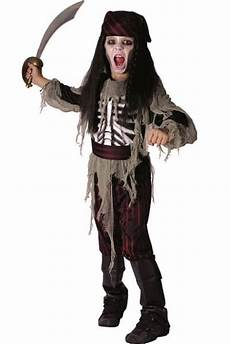 Costume Enfant Luxe Pirate Squelette X1
