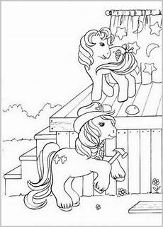 ausmalbilder zum drucken malvorlage my pony kostenlos 1