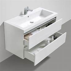 2 waschbecken mit unterschrank waschbeckenunterschrank wei 223 100 cm amilton