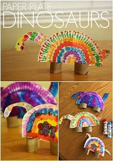 colorful paper plate dinosaurs for kids children s book