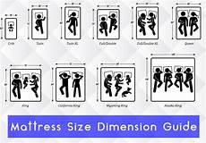 futon size mattress size chart and mattress dimesions mattress size