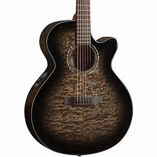 who makes mitchell guitars mitchell mx420 grand auditorium acoustic electric guitar midnight black finish guitar center