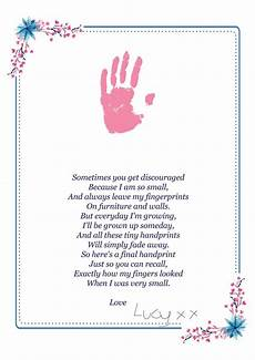 s day printable handprint poem 20557 handprint poem fathers day gift digital a4 and a3