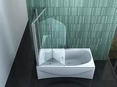 Duschtrennwand Badewanne Glas - badewannenfaltwand glas infos ratgeber 2019 bad dusche