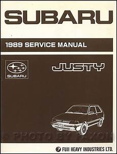 car repair manuals download 1989 subaru legacy regenerative braking 1989 subaru justy repair shop manual original