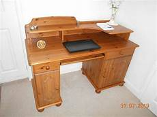 solid pine office desk in benfleet essex gumtree