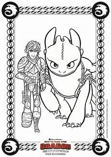 hiccup and toothless coloring page from httyd 3