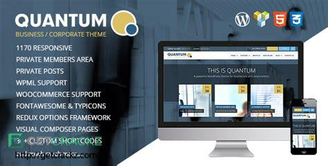 quantum v1 9 9 responsive business wordpress theme