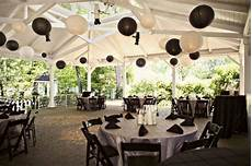 black and white wedding reception weddings shades of black wedding lanterns outdoor