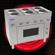 elektro backofen 6 flammen elektroherd mit elektro backofen tam sebe105