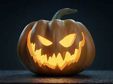 Kürbis Gruselig - pumpkin o lantern 3d evil cgtrader