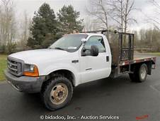 Purchase Used F 550 4X4 FLAT BED CREW CAB DIESEL GOOSE