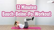 12 minuten bauch beine workout zeigt wie einfach