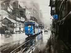 KOLKATA CITY SCAPE AB 20 By Artist Arpan Bhowmik