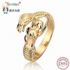 2018 new arrival authentic 925 sterling silver mermaid
