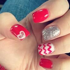 valentine s day nails gel nails valentines nails