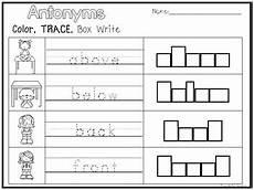 handwriting worksheets for grade 1 21854 10 antonyms color and writing worksheets kindergarten 1st grade ela