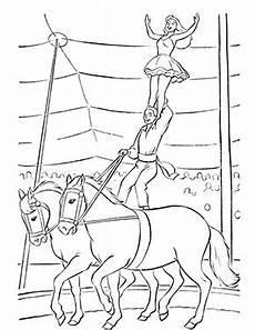 Zirkus Ausmalbilder Drucken Ausmalbild Zirkus Pferde In 2020 Ausmalen Ausmalbild