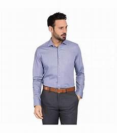 chemise bleue homme slim 224 carreaux en coton 233 gyptien