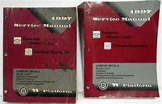 auto repair manual online 1997 oldsmobile cutlass supreme regenerative braking 1997 chevrolet monte carlo lumina olds cutlass supreme service manual 2 vol set