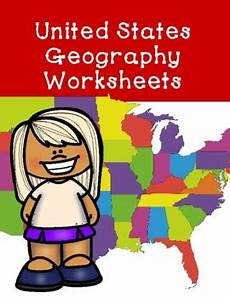united states geography worksheets by penelope winter tpt
