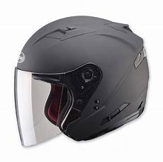 2 in 1 flat black cruiser motorcycle helmet retractable