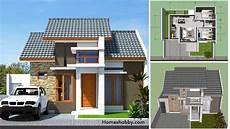 Desain Dan Denah Rumah 7 X 7 M Beserta Rab Lengkap Konsep