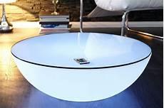 couchtisch led couchtisch beistelltisch ambience 60cm led beleuchtung
