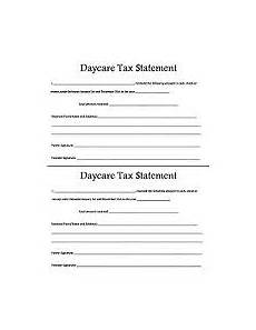 tax receipt template for home daycare 323 best images about daycare on newsletter