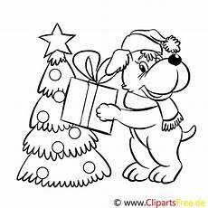 hund geschenk ausmalbild malvorlage zum drucken und ausmalen