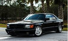 mercedes sec 560 1990 mercedes 560 sec amg wide 6 0 4v wheels auction shows