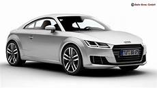 audi tt coupe 2015 3d model max obj 3ds fbx c4d lwo