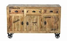 industrial m 246 bel sideboard kommode aus massivholz