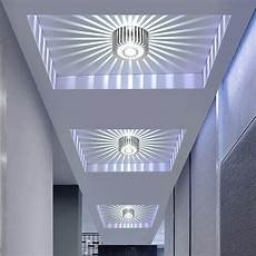 modern led ceiling light 3w rgb wall sconce for art gallery decoration front balcony l porch