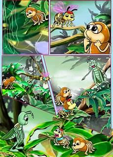 40 Contoh Gambar Ilustrasi Fabel Gambarilus