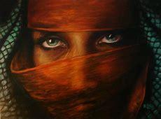 behind the veil II Painting by Richard Klingbeil